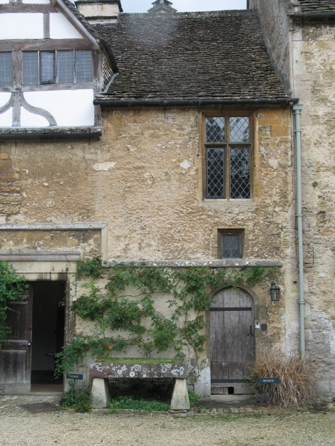 Courtyard at Lacock Abbey