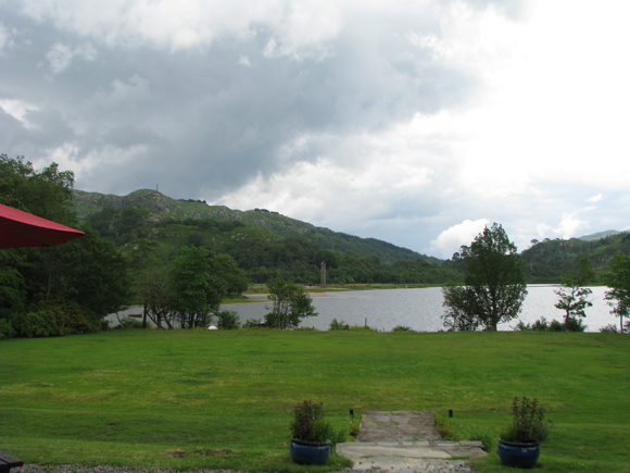 Head of Loch Sheil and Glenfinnan monument