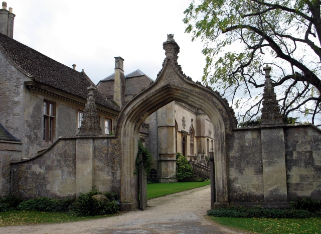 Gothic Arch at Lacock Abbey