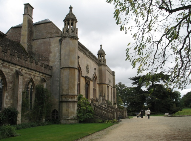 Lacock Abbey Forecourt