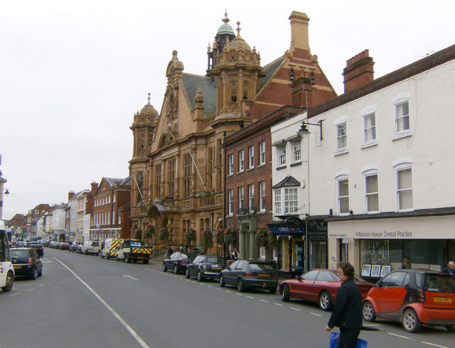 Hereford Town Hall, St Owens Street