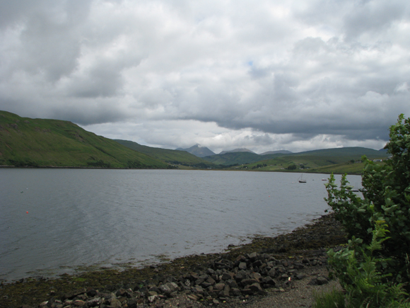 East Loch Harport from the Old Inn Carbost