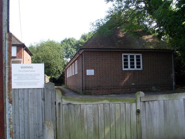 Telephone Exchange, Sonning Common