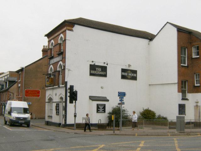 The Herdsman, Blue School Street, Hereford