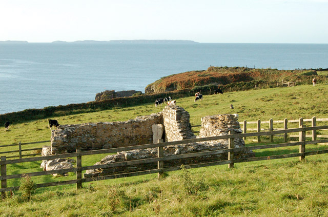 St Nons ruined chapel