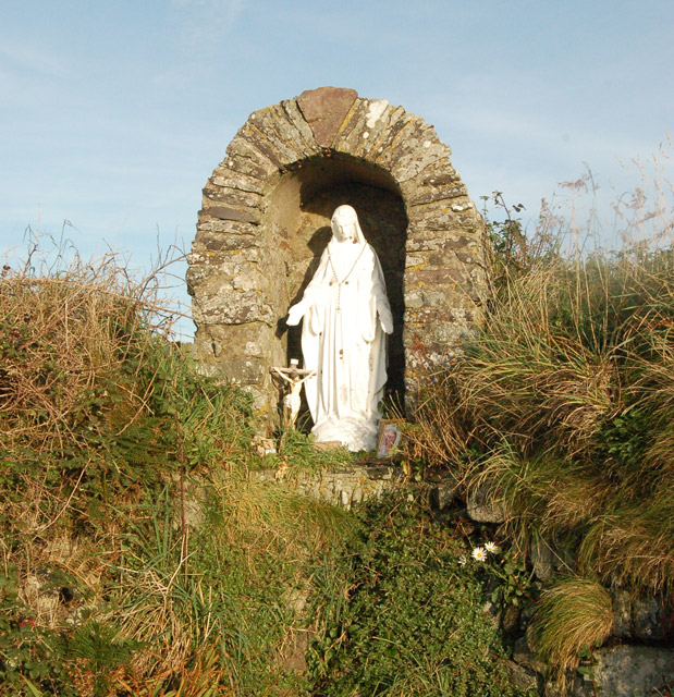 Shrine to Our Lady, St Nons Well