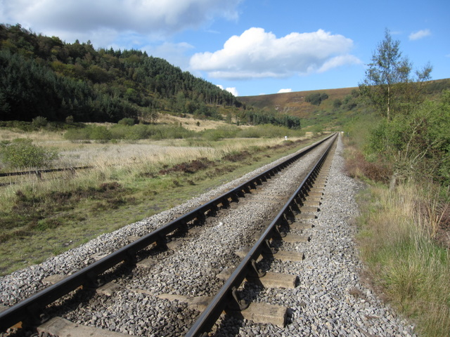 Newtondale and the NYMR track bed