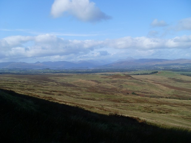View to Loch Lomond from north slope of Auchineden Hill