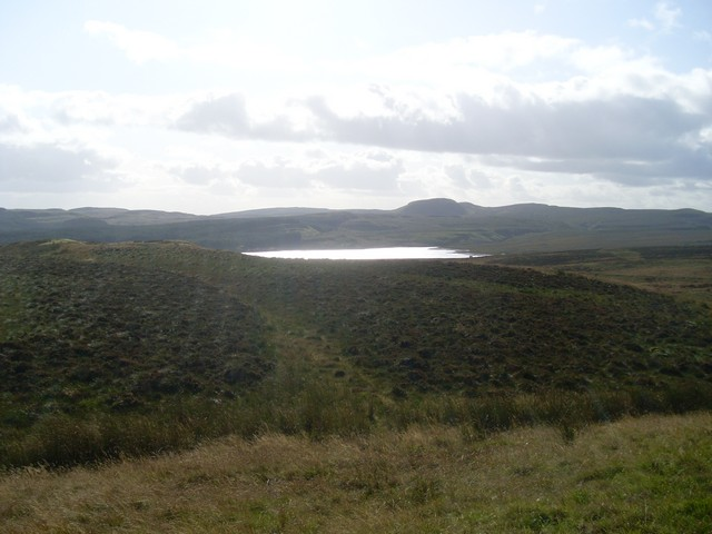 View to Burncrooks Reservoir from Auchineden Hill