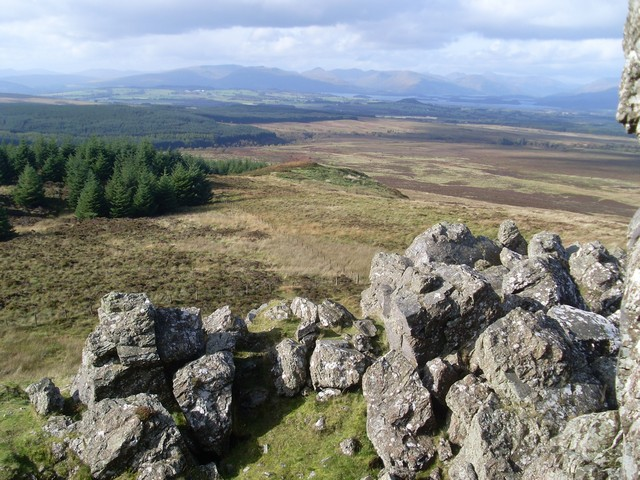 View to Loch Lomond from the Whangie