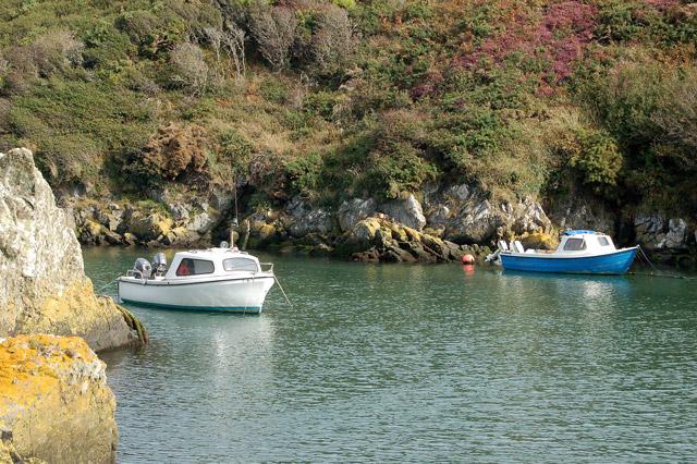 A safe anchorage at Porthclais