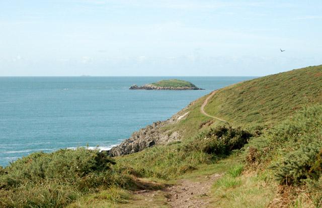 Coastpath west of Porthclais