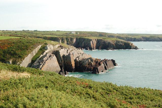 The coastpath near Porthclais