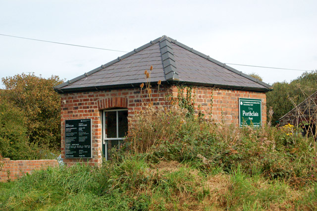 National Trust kiosk at Porthclais
