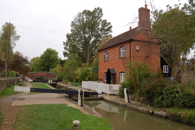 Lock keeper's house at Cropredy Lock