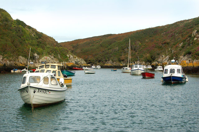 Looking north (inland) at Porthclais harbour