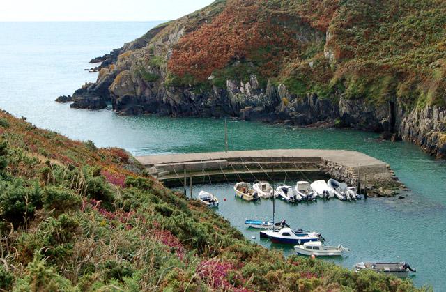 Harbour entrance at Porthclais