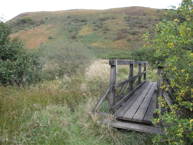 Footbridge in Newtondale