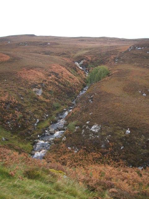 Steall Abhainn na Cloich