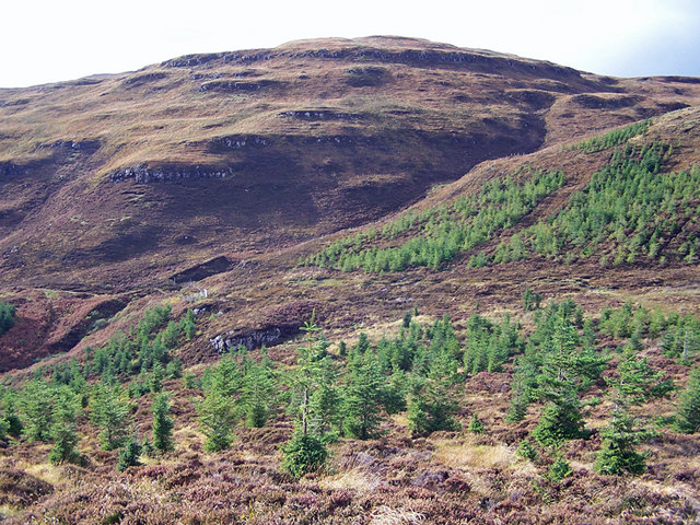 South western slope of Beinn na Moine