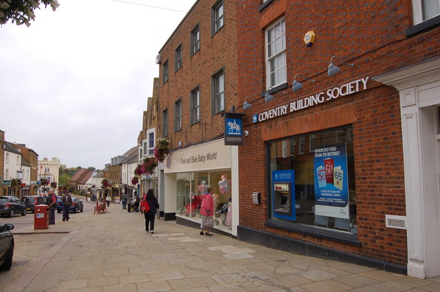 Coventry Building Society in High Street, Daventry