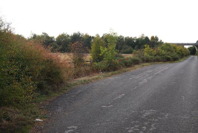 Passing place, Lower Haysden Lane