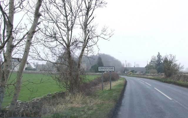 Road into Crackstone from the Ragged Cot Pub