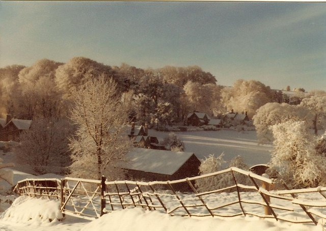 Cowley in Winter