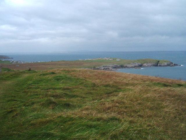 View to Rubha Meadhonach, Lewis