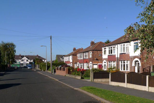 Houses on Bradshaw Hall Lane