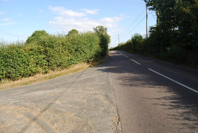 Junction of Upper & Lower Haysden Lanes