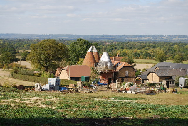 Great Hayesden Farm Oast  house