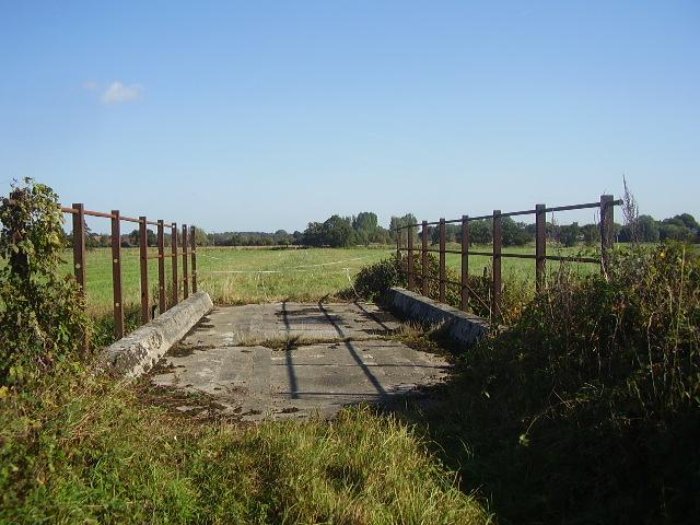 Old bridge looking towards Ellingham