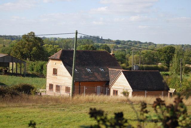 New buildings, Upper Hayesden Farm
