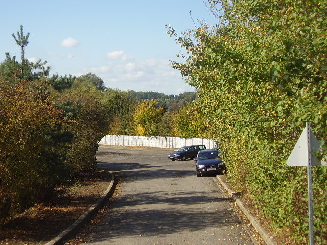 The site of Bungay Railway station