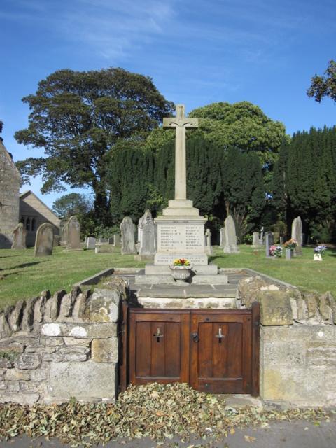 East Ayton war memorial