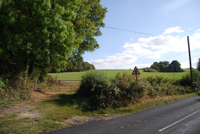 View off  Upper Haysden Lane