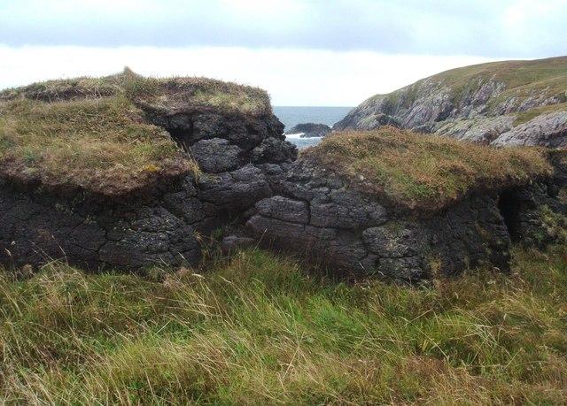 Peat diggings