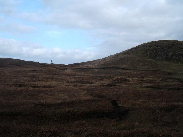Peat moorlands south of Tiumpan Head
