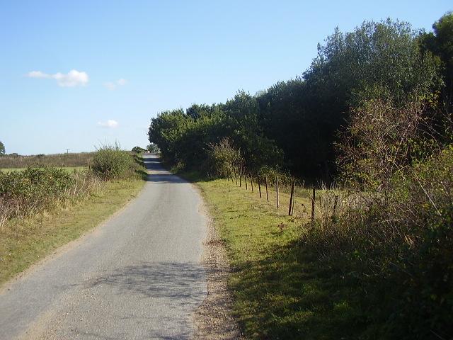A small lane up to Bridge 1197