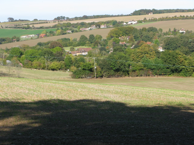 View towards Out Elmstead from Greenbanks