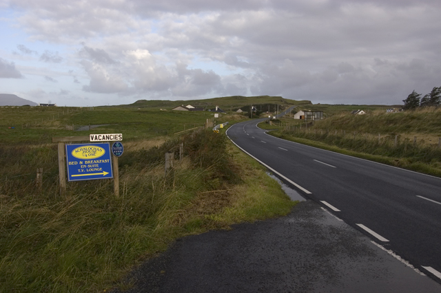 The A863 at Ose