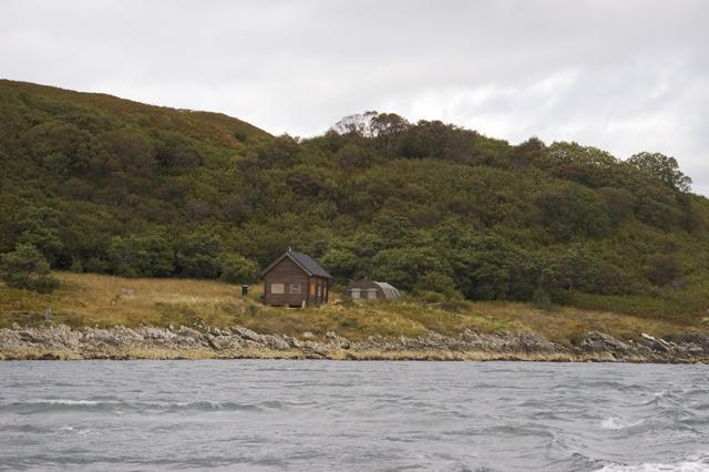 Buildings at Bagh Innvraig, Eilean Mhic Chrion