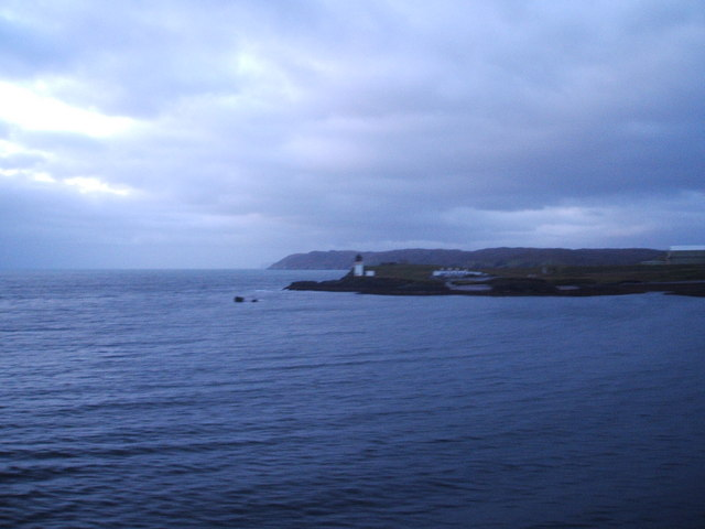 Lighthouse in Stornoway Harbour