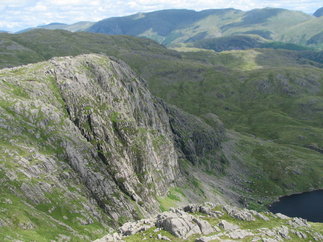 Pavey Ark from Harrison Stickle