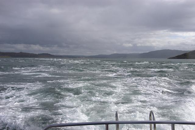 The tide race at Dorus Mor