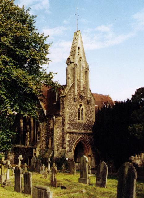 St John the Evangelist, Woodley