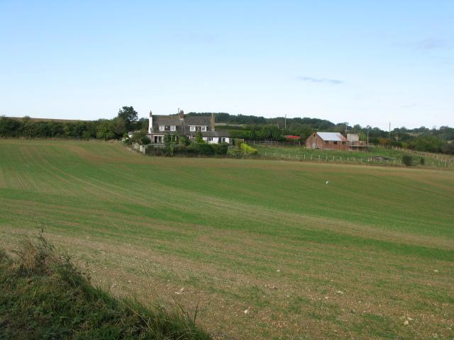 Upper Dane Farm from Crete Road West