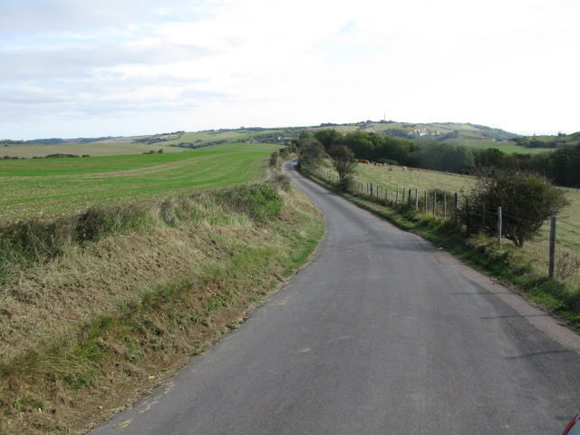 Crete Road West, looking east