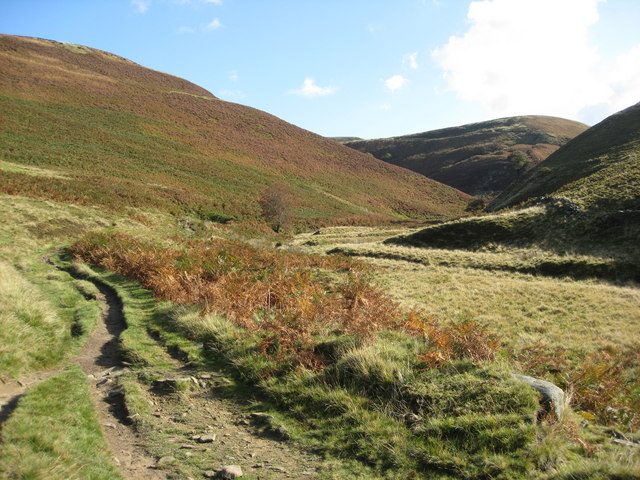 Footpath at Cranberry Clough